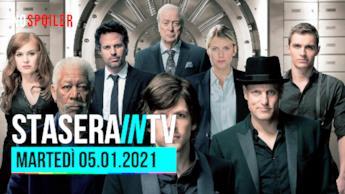 La guida TV ai film in onda questa sera martedì 5 gennaio 2020