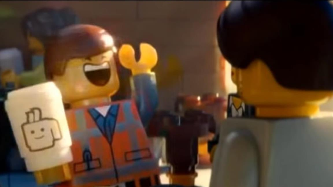 Lucy ed Emmet dal film The LEGO Movie 2