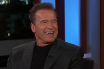 Una foto di Arnold Schwarzenegger