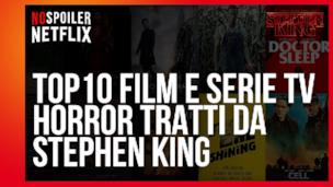 La classifica dei 10 Film e Serie TV tratti dai libri di Stephen King
