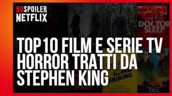 La classifica dei 10 Film e Serie TV tratti dai libri di Stephen King