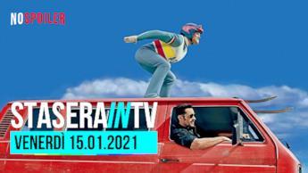 I film in onda questa sera in TV 15 gennaio 2021