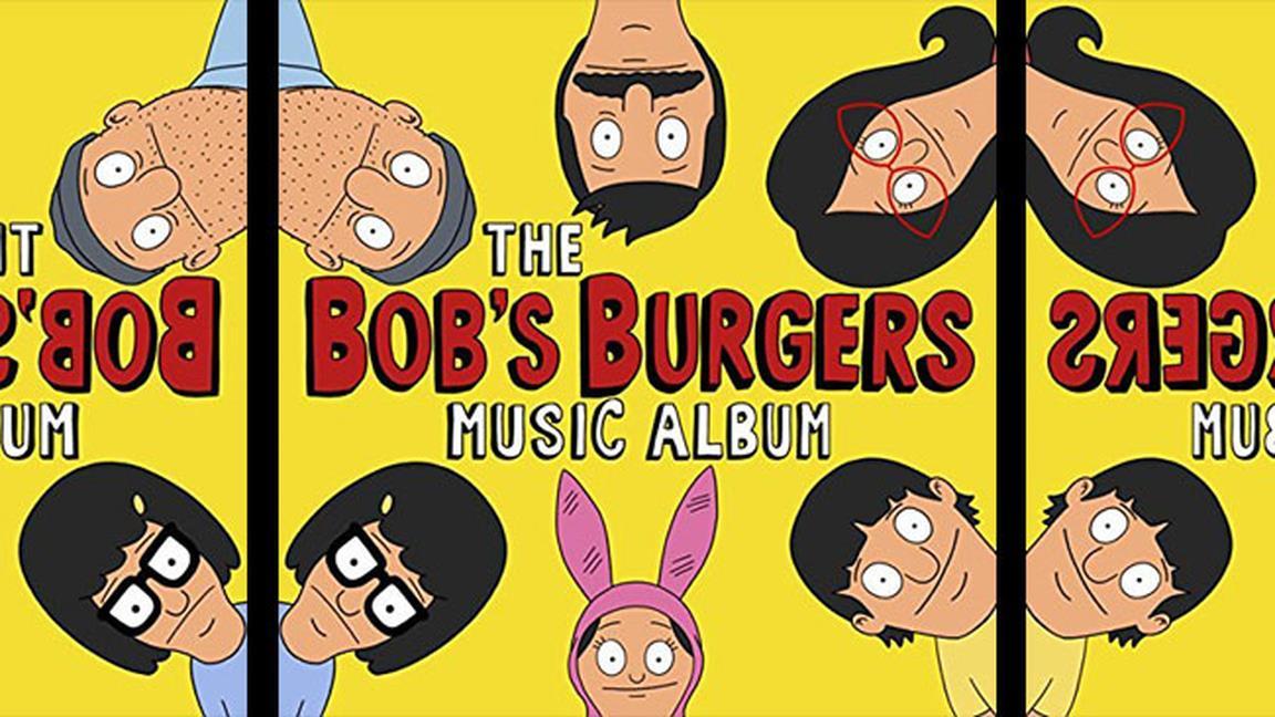 La cover di The Bob's Burgers Music Album