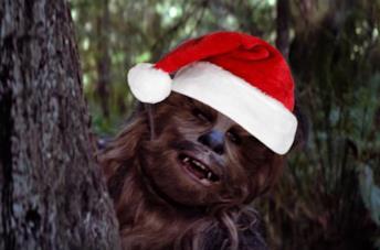 Gli auguri definitivi di Natale? Chewbacca che canta Silent Night!