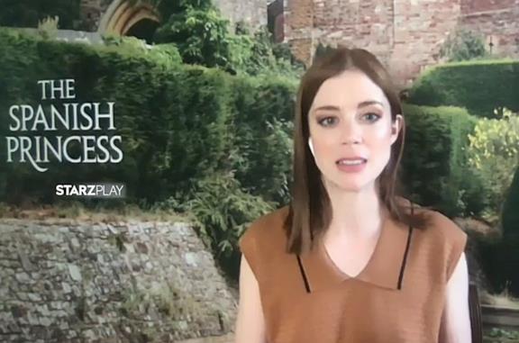 The Spanish Princess, Charlotte Hope si commuove raccontando Caterina d'Aragona nella seconda stagione