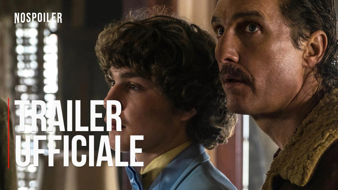 Cocaine: La vera storia di White Boy Rick, il trailer ufficiale del film con Matthew McConaughey