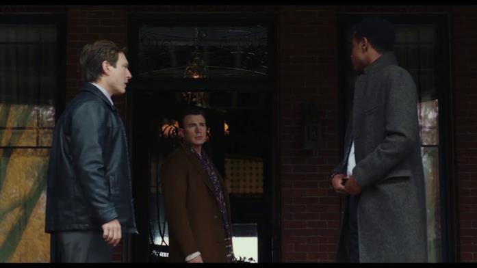 Scena del nuovo film di Rian Johnson