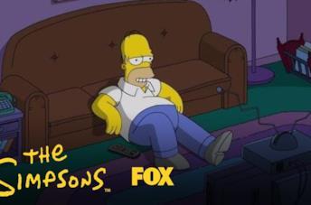 Homer Simpsons e l'effetto binge-watching di Stranger Things