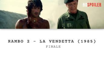 Il finale di Rambo 2 - La vendetta