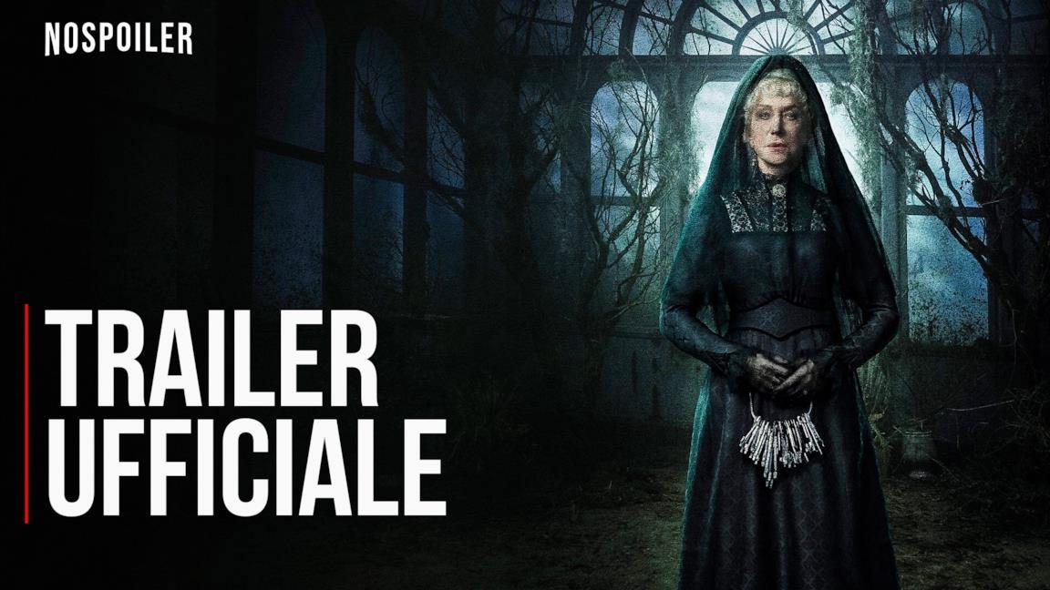 Helen Mirren nel film La vedova Winchester