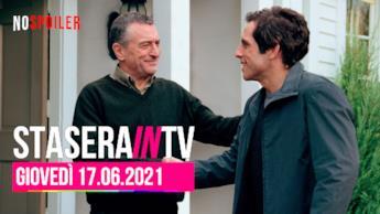 Film e programmi questa sera in TV - 17 giugno 2021