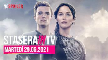 Film e programmi questa sera in TV - martedì 29 giugno 2021