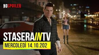 I film in TV oggi 14 ottobre 2020