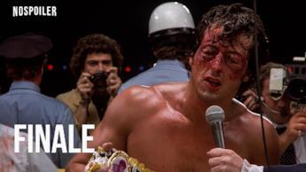 Il finale di ROCKY II