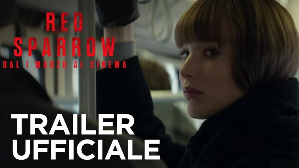 Il trailer di Red Sparrow
