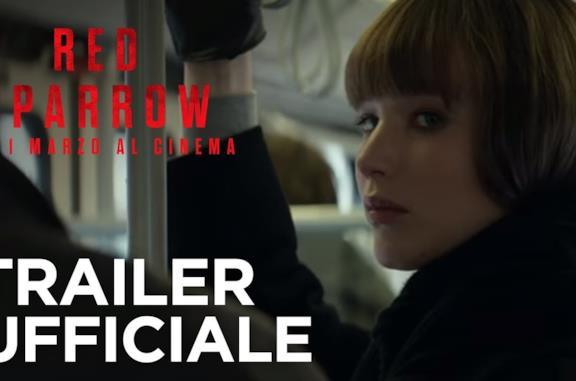 Red Sparrow: trailer, trama e cast del film con Jennifer Lawrence