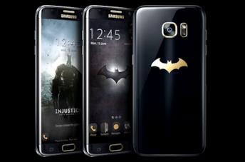 Il video che presenta il Samsung Galaxy S7 Edge a tema Batman