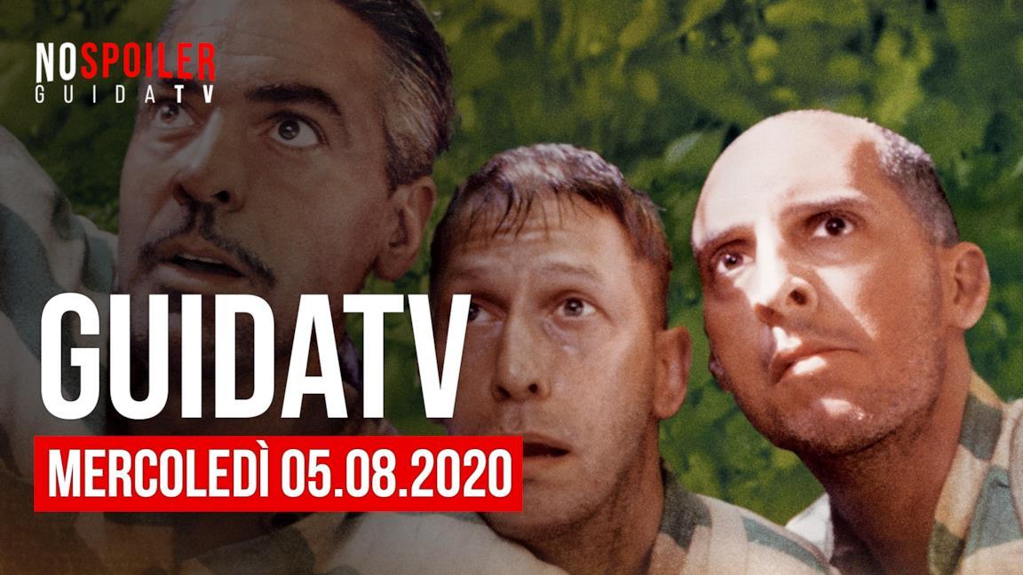 Stasera in TV, cosa guardare su RAI, Mediaset, SKY e gli altri canali