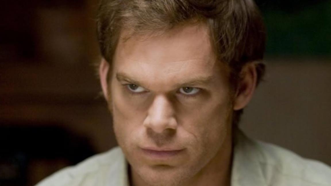 Michael C. Hall nell'ultima immagine di Dexter
