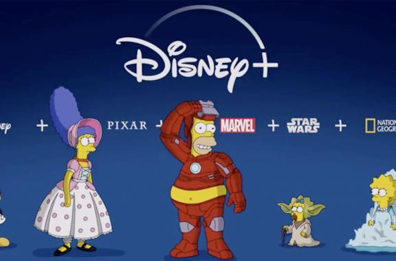 I Simpson sbarcano su Disney+, il teaser è ovviamente ironico