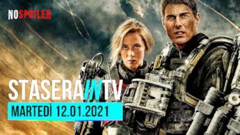 I film in TV questa sera martedì 12 gennaio 2021