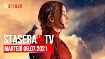 Film e programmi questa sera in TV - martedì 6 luglio