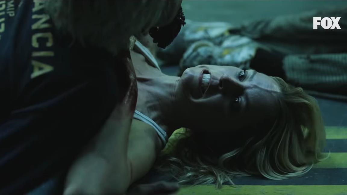 Vis a Vis: gli zombie di The Walking Dead invadono il penitenziario della serie