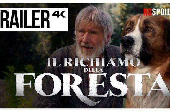 Il Richiamo della Foresta, il trailer ufficiale del film con Harrison Ford