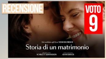 Storia di un matrimonio la video recensione