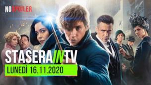 I film oggi in TV - lunedì 16 novembre 2020