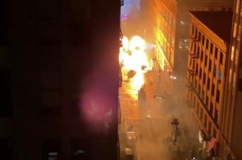 Matrix 4: le esplosioni sul set a San Francisco hanno causato danni ai palazzi