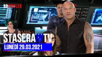 Stasera in TV su tutti i canali del DTT - lunedì 29 marzo 2021