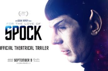 For the Love of Spock, il trailer del documentario su Leonard Nimoy
