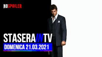 La guida Tv di tutti i canali del DTT - domenica 21 marzo 2021