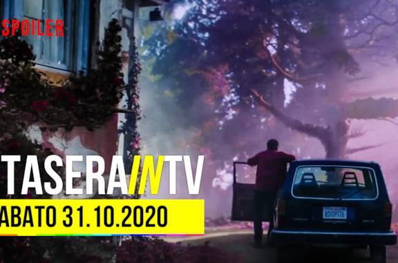 I programmi e i film da vedere questa sera sabato 31 ottobre