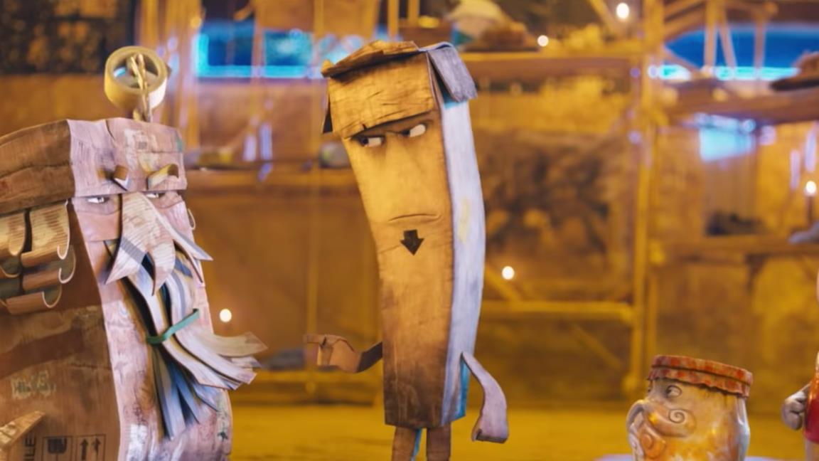 Trash, il film d'animazione italiano dove la plastica prende vita