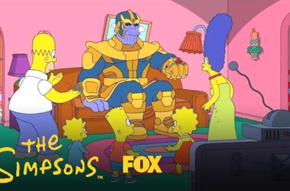 I Simpson: in arrivo un episodio su Marvel, Thanos e gli spoiler