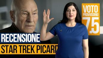 Star Trek: Picard la video recensione della serie TV