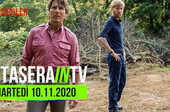 I film da vedere oggi in TV martedì 10 novembre