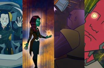 La fuga di Loki e le finte scene di Infinity War e Endgame animate