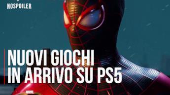 I nuovi giochi in arrivo su PS5