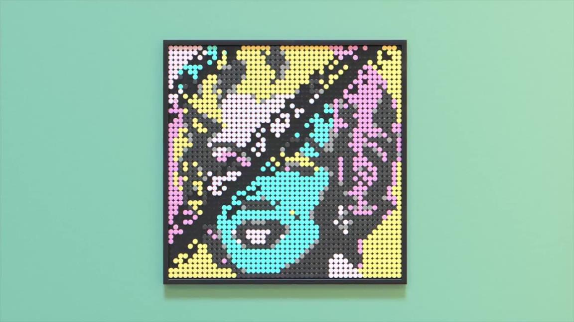 LEGO Art, la linea dei mattoncini per arredare la casa con la pop culture