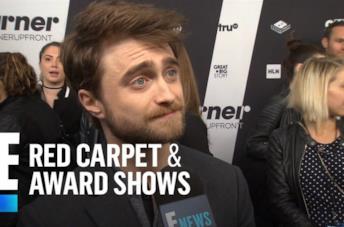 Mezzobusto di Daniel Radcliffe