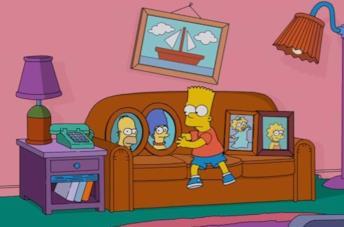 Questa gag del divano dei Simpson è incredibilmente macabra