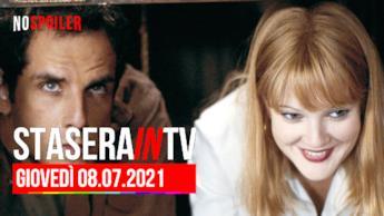 Film e programmi questa sera in TV - giovedì 8 luglio 2021