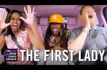 Michelle Obama si scatena al Carpool Karaoke con Missy Elliott!