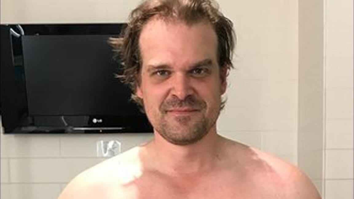 David Harbour e Ron Perlman nei panni di Hellboy