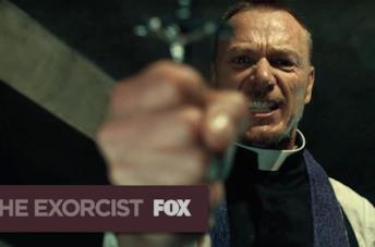Una scena de L'esorcista, il film culto che ha ispirato l'omonima serie TV