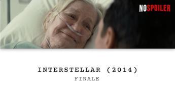 Il dialogo finale del film Interstellar