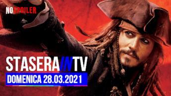 Stasera in TV su tutti i canali del DTT - domenica 28 marzo 2021